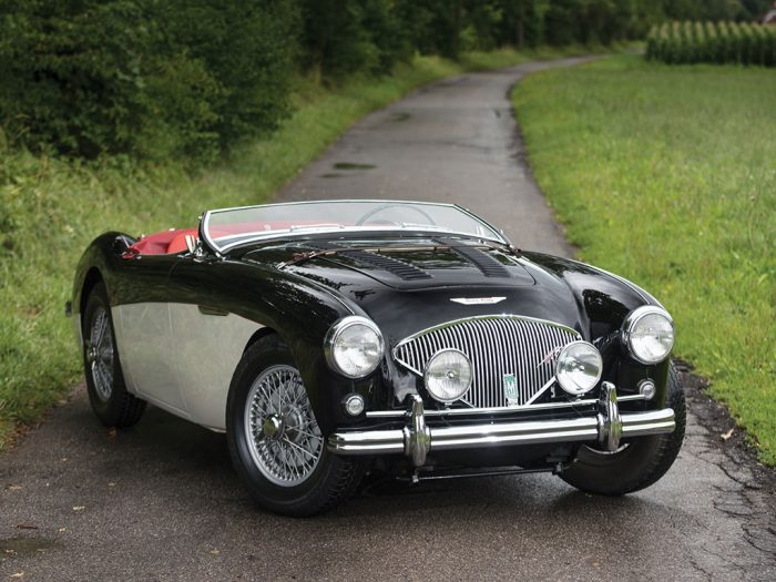 1955 Austin-Healey 100-4 Le Mans-Conversion | London 2017 | RM Sotheby's £65,000 – £ ...