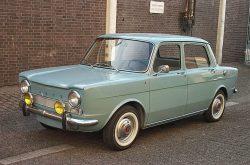 1968 Simca 1000