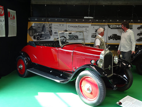 1927 Citroen B12 Cabriolet. My late father's identical model was apparently the only other ...