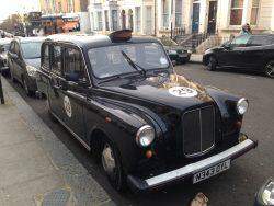 London cab rally car