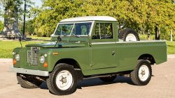 1966 Land Rover Series 2 pickup truck