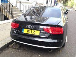 Jimmy Page's Audi A8