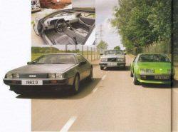 De Lorean, Volvo 265, Renault Alpine A610