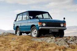 1973 Range Rover Series 1