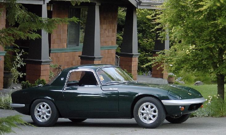 1966 Elan S3 coupe