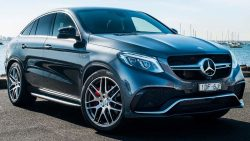 2017 Mercedes AMG GLE 6.3 coupe