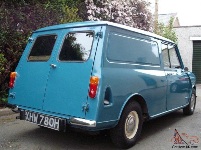 1970 Morris Minivan Classic Austin BMC Van Full MOT
