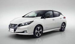Nissan Leaf 2018 – new electric car.