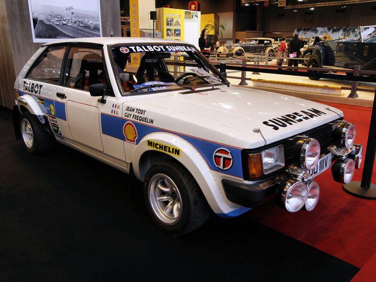 1981 Sunbeam-Lotus rally car
