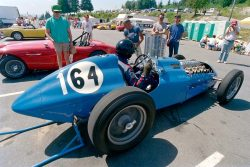 Vintage Race Cars at Westwood | 1948 Talbot-Lago