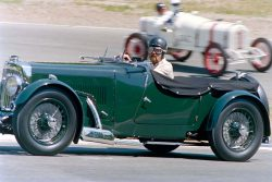 Vintage Race Cars at Westwood | 1937 Aston Martin