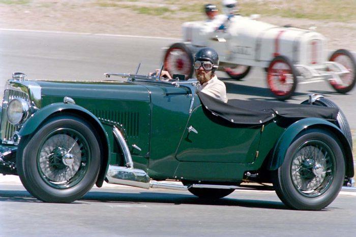 Vintage Race Cars at Westwood   1937 Aston Martin
