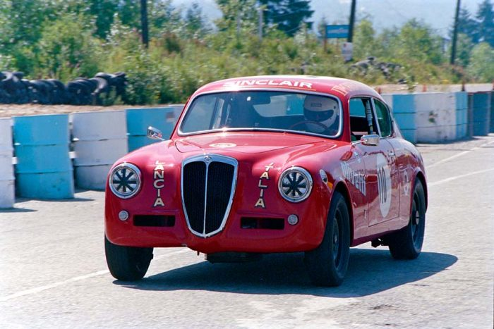 Vintage Race Cars at Westwood | lancia Auerlia 1954