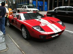 2012 Ford GT40. This is a modern reproduction, but it sticks to the classic GT40 design. Awesome!