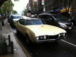1968 Oldsmobile Cutlass. Love the Cutlass! The big-block, 442 version is a monster of a car!