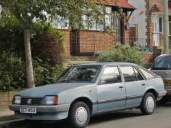 1986 Vauxhall Cavalier 1.6. I never liked the design much, but it was a decent drive (quicker th ...