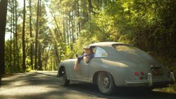 A mis-spelled Craigslist ad led Hummel to this barn find-condition Porsche 356 that had been sit ...