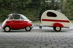BMW Isetta with caravan !