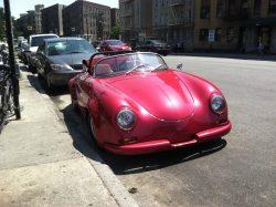 Porsche 356 (replica), Bronx, NYC.