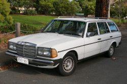 1982 Mercedes 280TE Estate