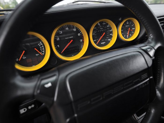 """1994 Porsche 911 Turbo 3.6 """"colour matched"""" instruments"""