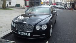 2015 Bentley Continental Flying Spur.