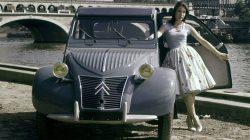 Citroen 2CV 1948 Paris Motor show