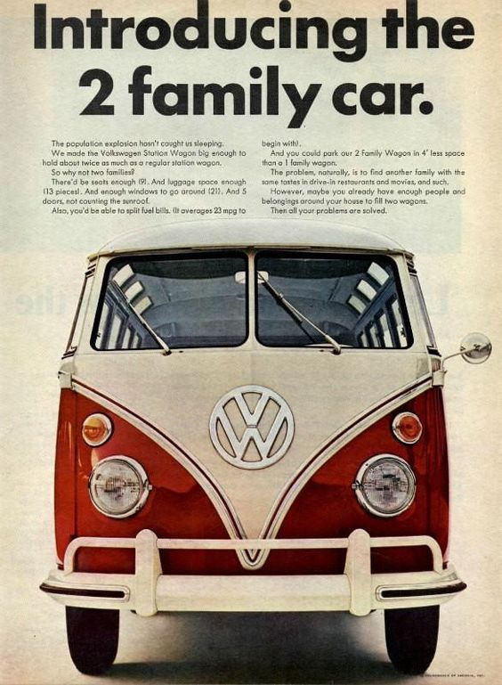 1966 VW Advert