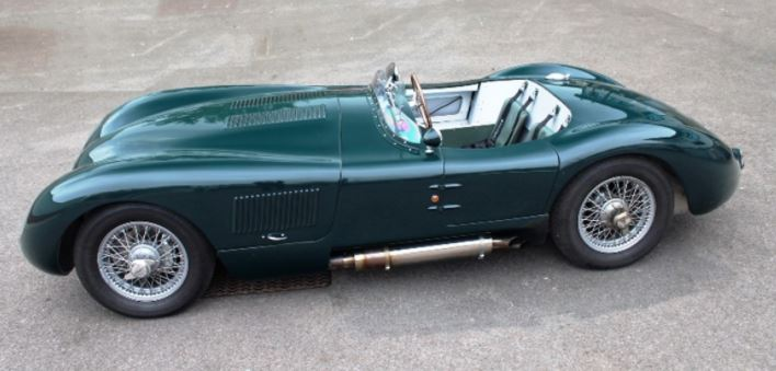 1953 Jaguar C-Type Le Mans winner