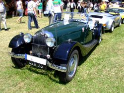 1952 Morgan Plus 4 (flat radiator)