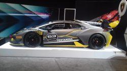2018 Lamborghini Pertamina race car
