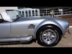 Fun day with 1965 Shelby AC Cobra Backdraft Racing Tribute – YouTube