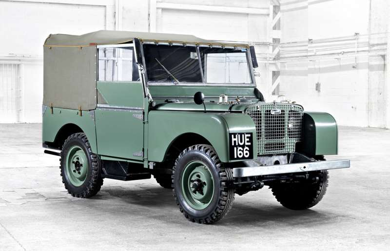 1948 Land Rover Series I.