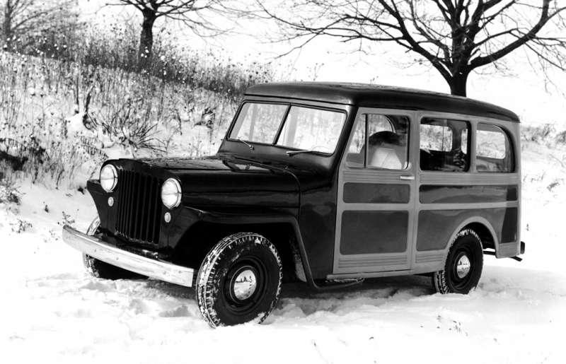 1946 Willys Jeep Station Wagon.