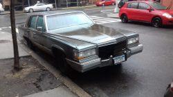 1980s Cadillac Brougham.