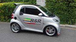 2018 RSR Racing Brabus Smart Car