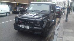 2018 Brabus (Mercedes) G-Wagon