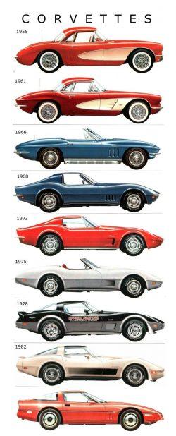 Corvette 1955-1984