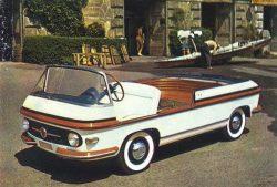 1956 Fiat 600 Multipla marine