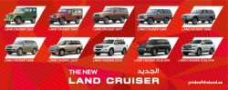 Land Cruiser Timeline Posters by Tarek Damouri at Coroflot.com