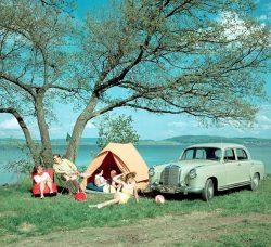 Mercedes-Benz 220/220 S/220 SE W180/ W 128 (1954 – 1959) – Mercedes-Benz