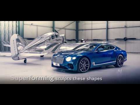 New Continental GT 2018 – the Design |YouTube