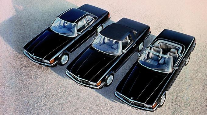 1971-89 Mercedes-Benz 350 SL (R 107) – Mercedes-Benz