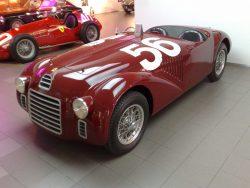 1947 Ferrari 125 S First Ferrari ever built.