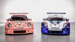 2018 Porsche 911 RSR Le Mans Racecar
