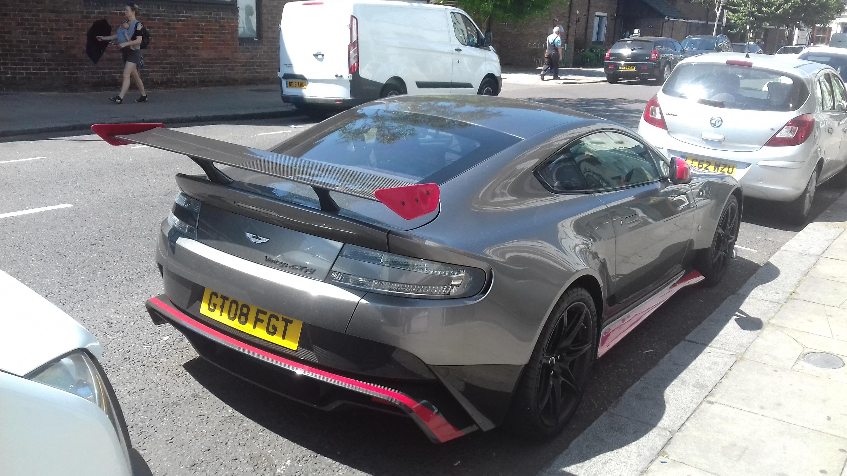 2018 Aston Martin Vantage Gt8 Totallycars Club
