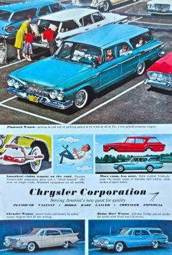 Vintage Chrysler Advert