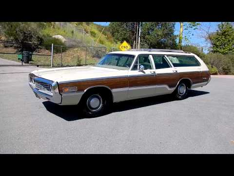 1970 Chrysler Town & Country Station Wagon Woodie Estate Woody 383 Big Block – YouTube