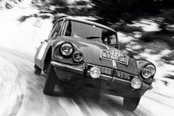 Citroen DS  Monte Carlo rally