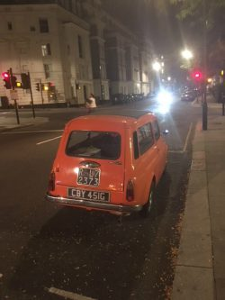 1969 Fiat 500 Estate- spotted in Notting Hill